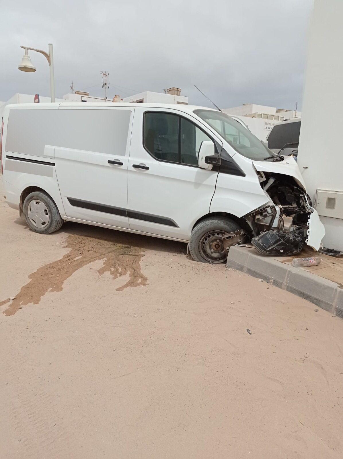 Accidente de tráfico en La Graciosa