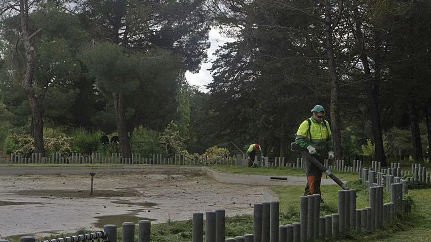 El contrato de jardines de Zamora: todos los detalles sobre su paralización