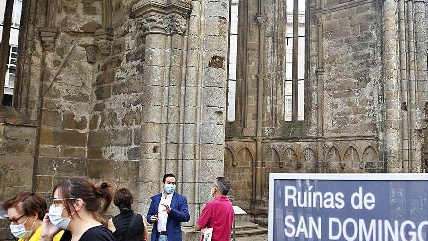 El Museo duplica visitantes este verano por la reapertura de las Ruínas de Santo Domingo
