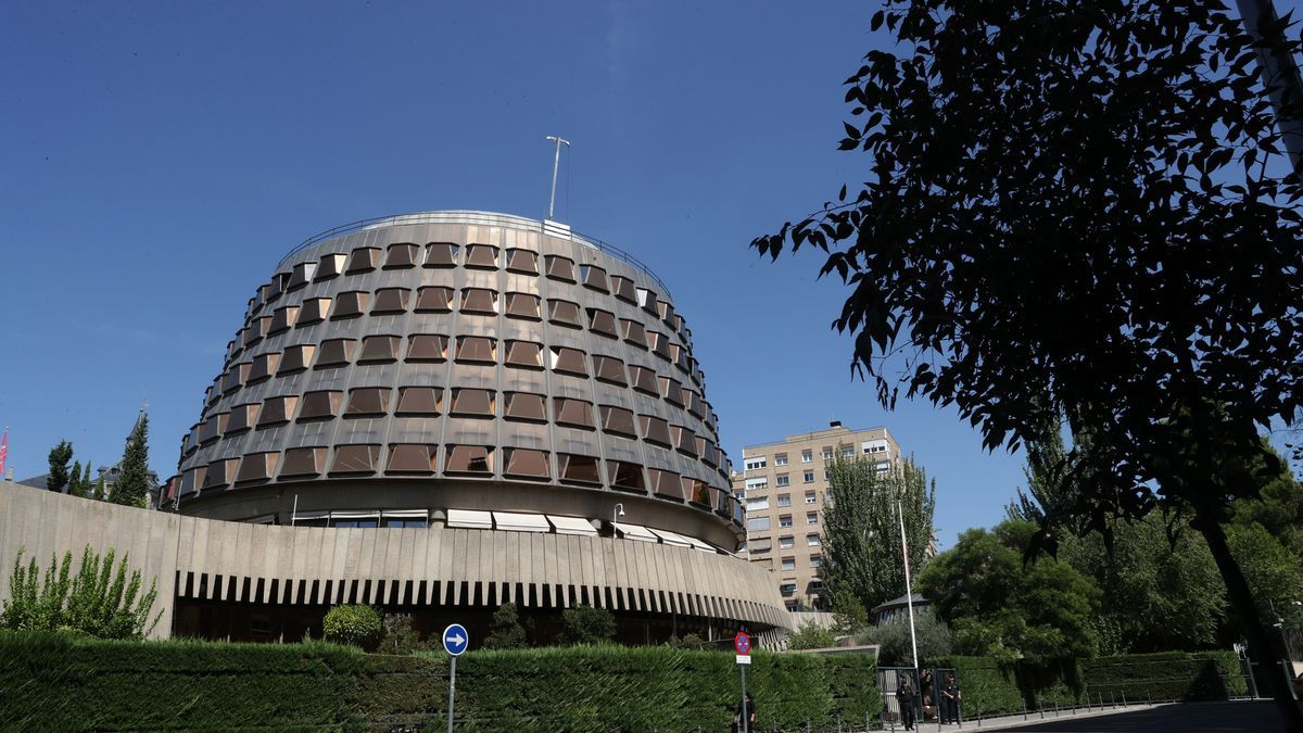 Sede del TC en Madrid.