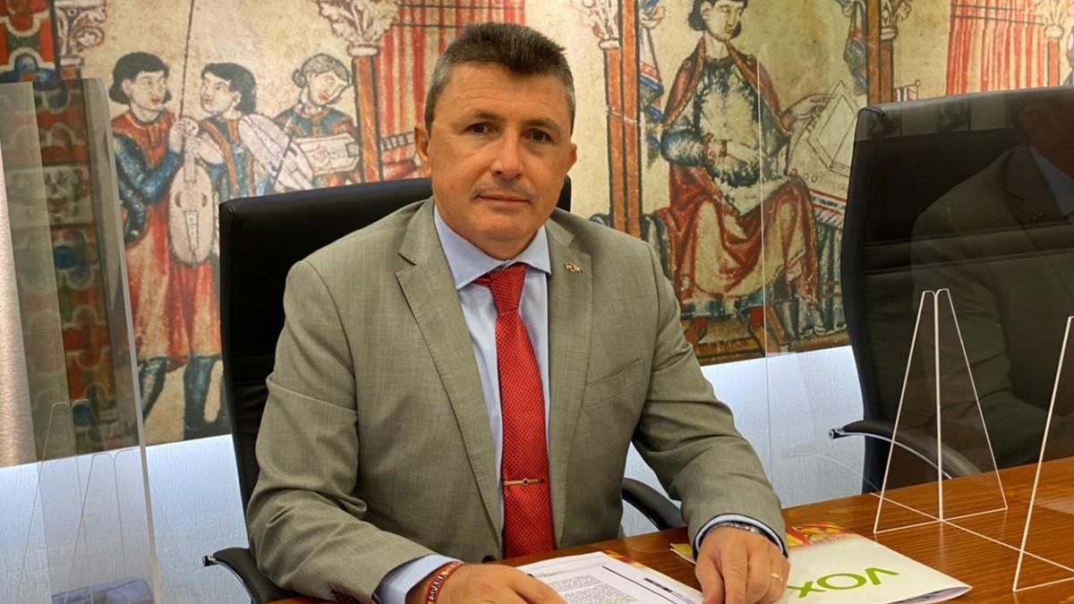 El diputado regional de Vox, Pascual Salvador.