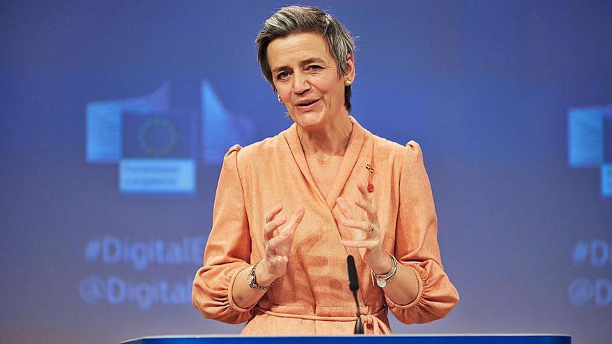 La vicepresidenta de la CE encarregada de Competència, Margrethe Vestager | EP