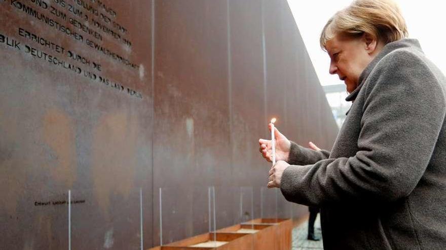 Merkel, contra todos los muros