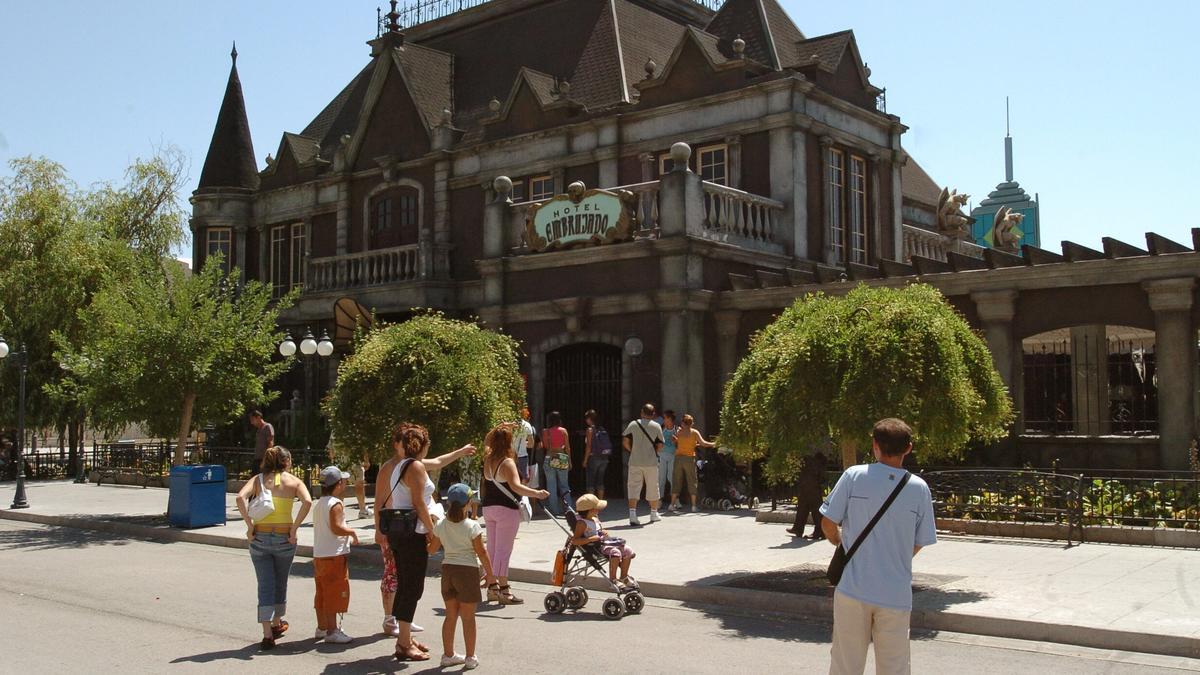 Una imagen de archivo del Parque Warner, en Madrid.