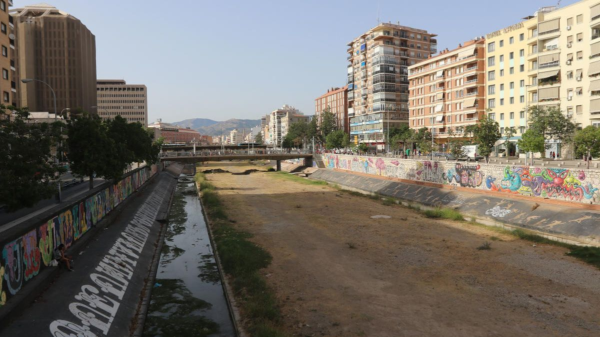 Cauce del Guadalmedina.
