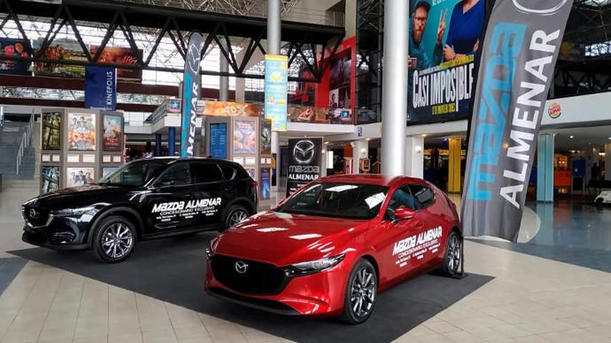 Mazda Almenar luce parte de su atractiva gama en Kinépolis