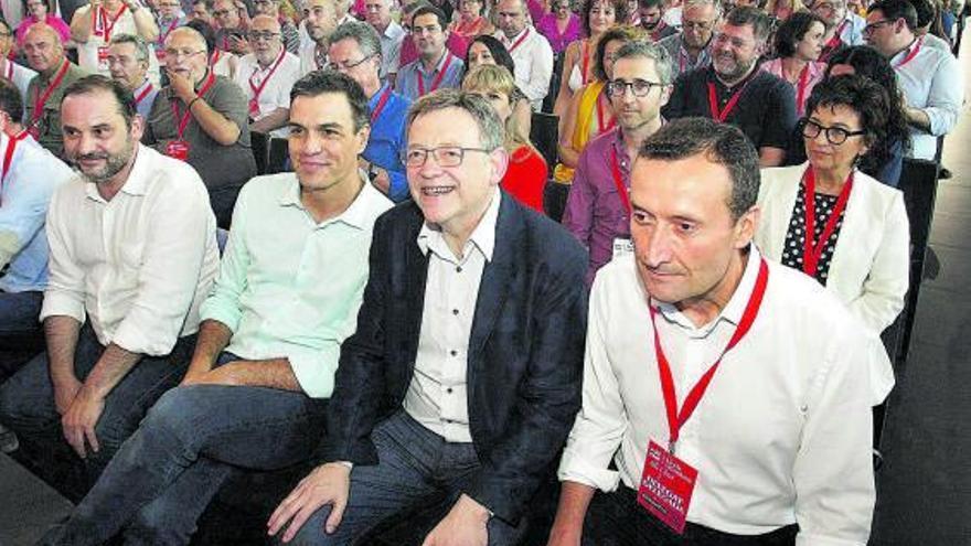 Puig intensifica la agenda socialista en busca de un congreso de aclamación