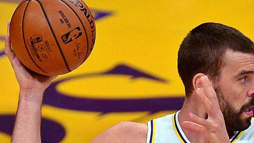Gasol y los Lakers acusan el cansancio y caen ante los Trail Blazers