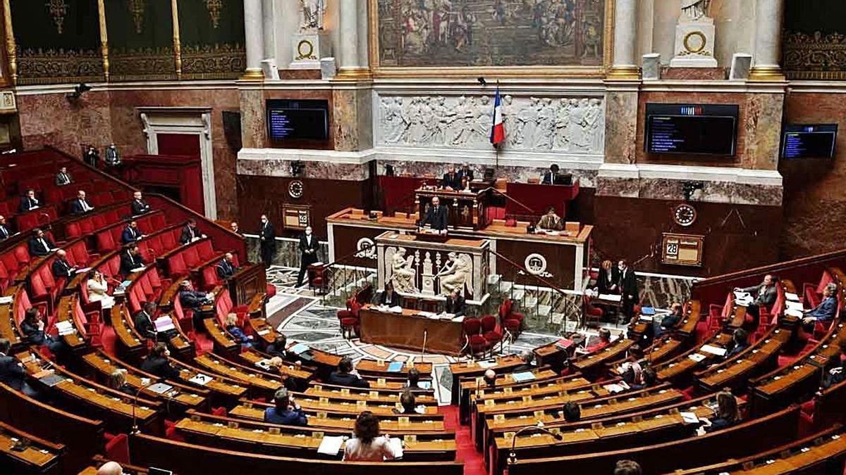 Assemblea Nacional Francesa. | EFE