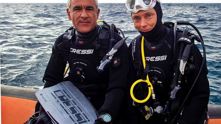 """""""Ver lo que hacen los animales bajo el mar siempre me sorprende"""""""