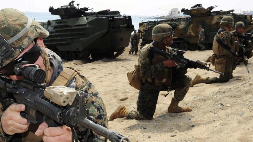 Escándalo en EEUU por la distribución de miles de fotos de marines desnudas