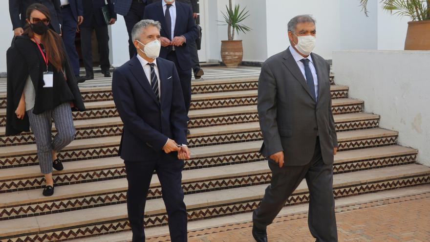 Marlaska se reúne en Marruecos con Abdelouafi Laftit