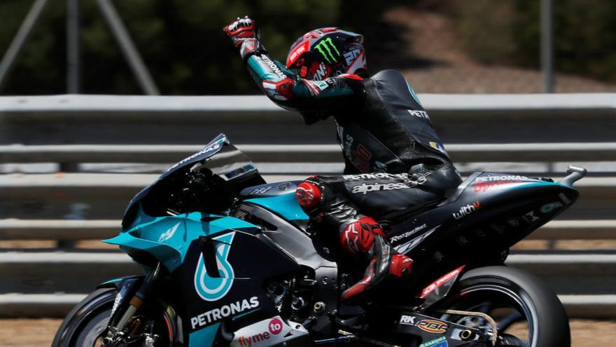 Quartararo suma su segunda 'pole' consecutiva en MotoGP