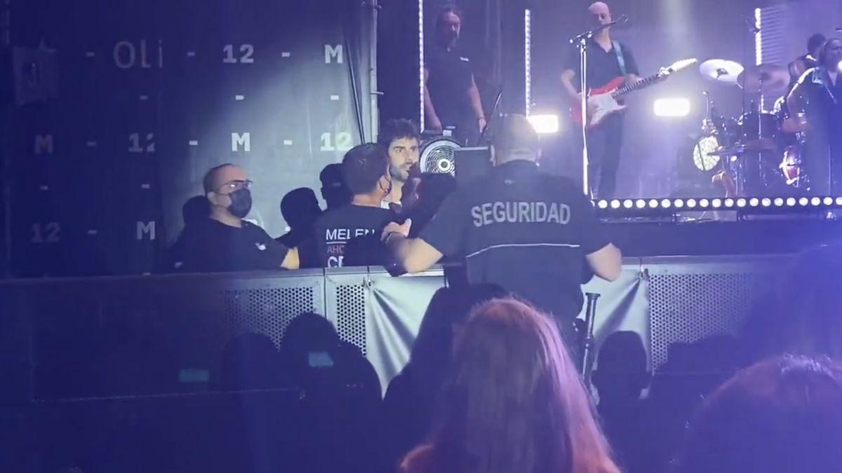 Incidente en el concierto de Melendi en Alicante TWITTER