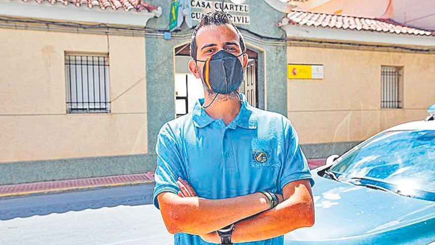 Cristian Martínez : «No damos abasto, aumentan los delitos, pero no la plantilla»