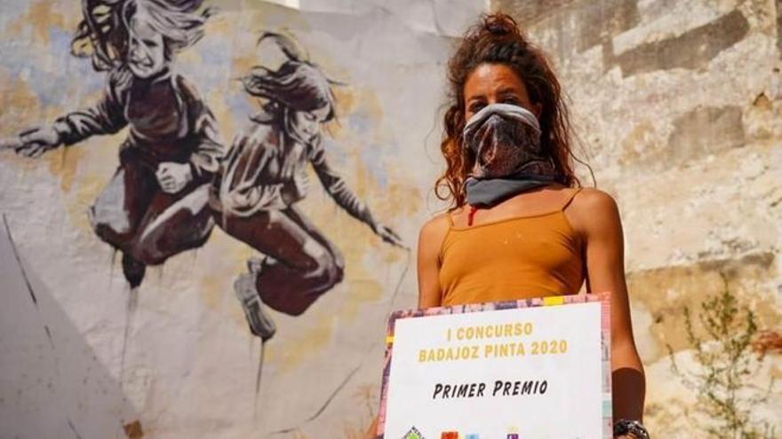 La segunda edición de 'Badajoz pinta' moviliza a 15 artistas