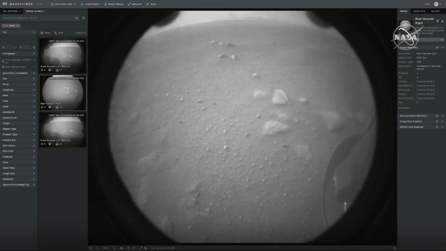 El Perseverance aterra amb èxit a Mart