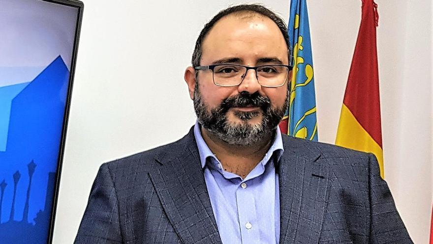 Jesús Sellés, concejal de Recursos Humanos en el Ayuntamiento de Elda.