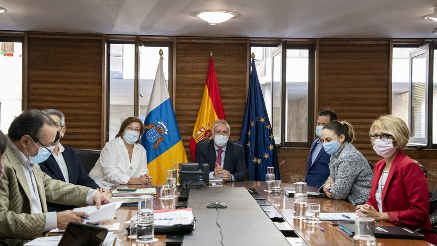El Gobierno de Canarias y Cermi profundizan en la situación de las personas discapacitadas en la pandemia