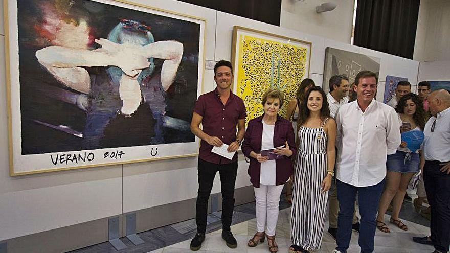 Abierto el certamen de pintura Juan Francés