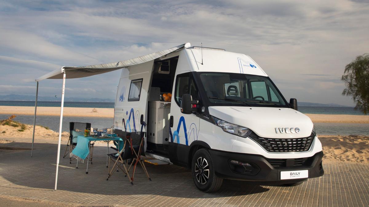 Iveco Daily Camper 2021: la furgoneta camper con baño, cocina y dormitorio para 4 ya tiene precio en España