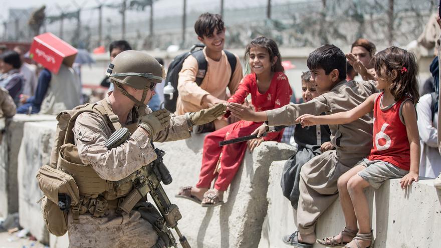 Horror en Kabul, fiesta en Catar