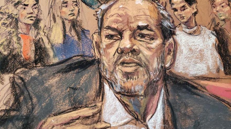 Condenan a Harvey Weinstein a 23 años de prisión