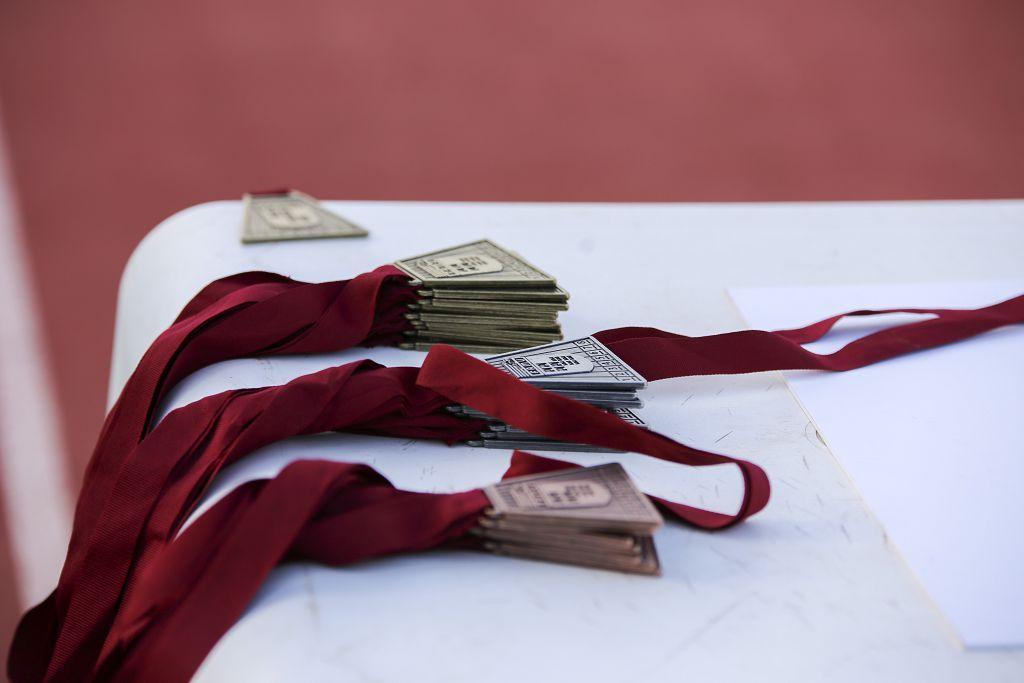 Campeonato regional de atletismo. Primera jornada