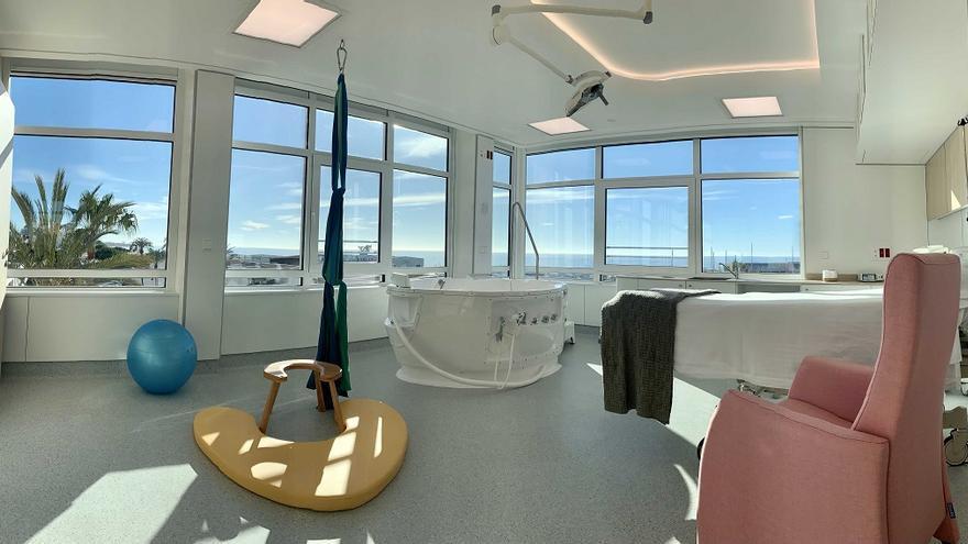 Quirónsalud Marbella inaugura una nueva sala de partos y atención neonatal