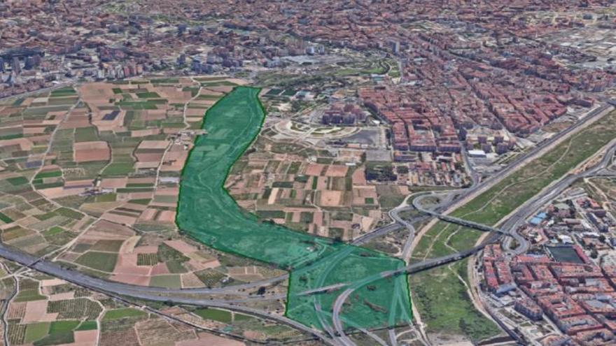 Un corredor verde de 14 km unirá el Parc del Turia y el de l´Albufera