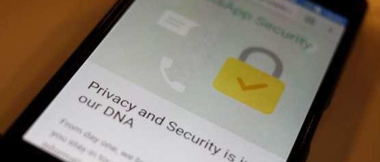La página sobre seguridad del blog de Whatsapp.