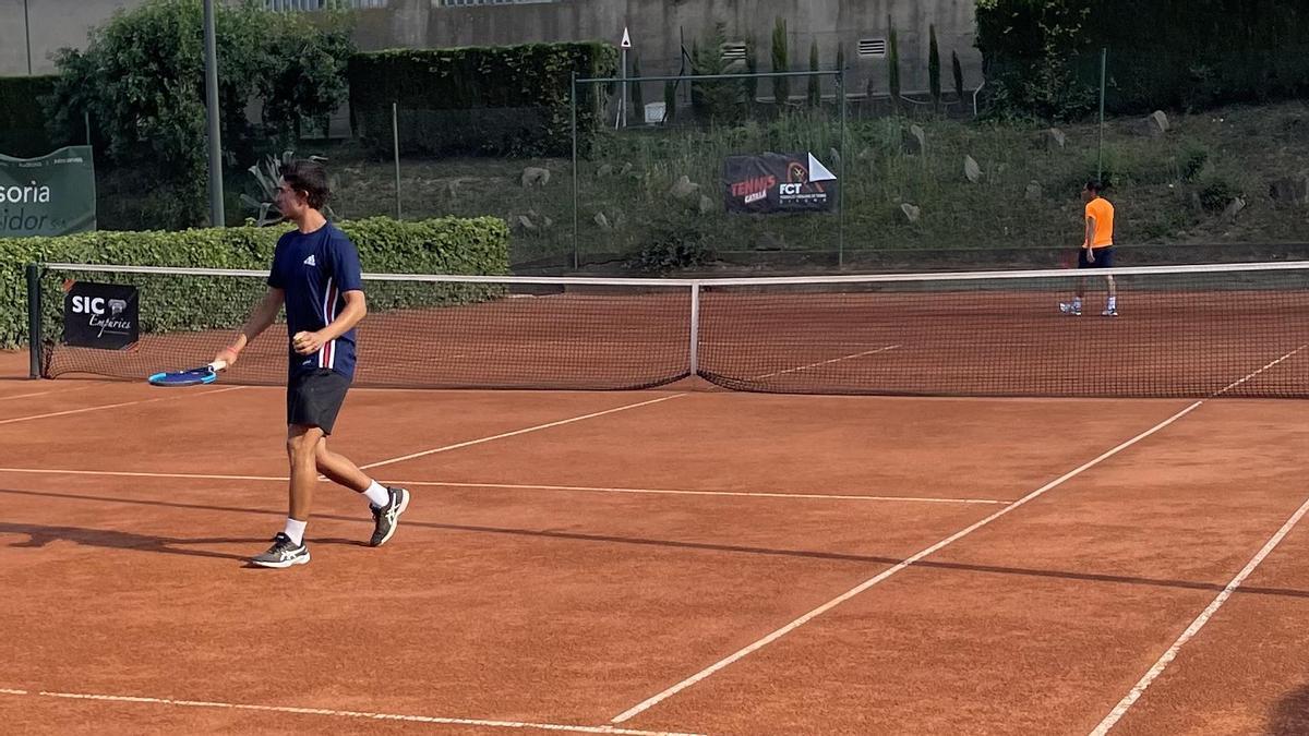 Primera jornada de l'Open de Fires del Club Tennis Figueres
