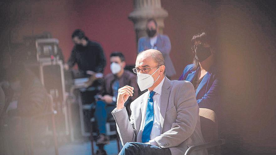 Lambán amenaza con acudir a los tribunales para exigir el IVA del 2017