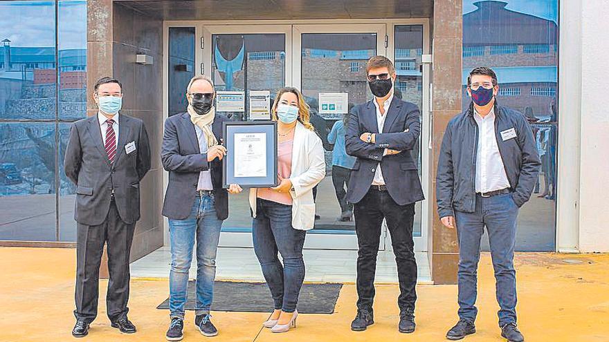 La empresa Cotoblau logra el certificado ISO 28000 de Aenor