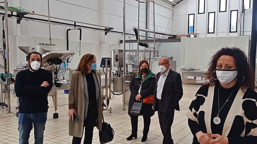 El futuro del medio rural: La empresa que produce mermelada de arándanos en Caravia duplicará su producción