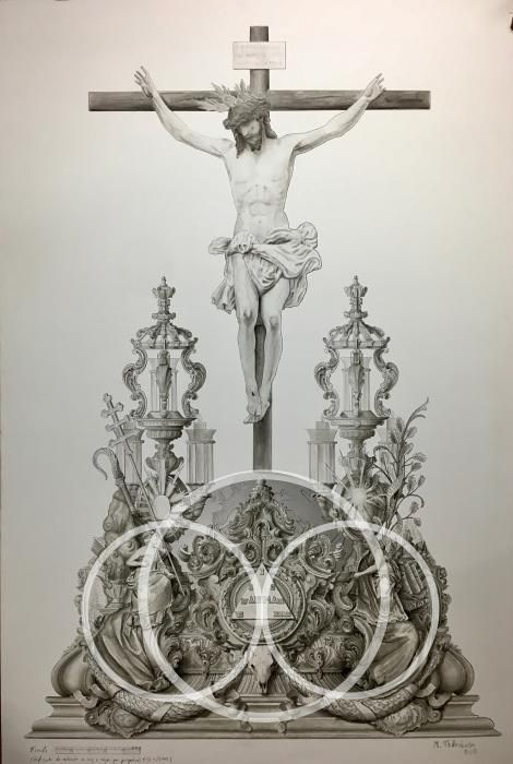 Diseño del nuevo trono de Crucifixión