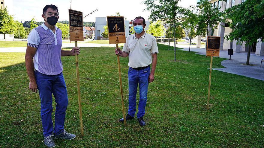 El Concello lanza una campaña entre los vecinos por un 'Lalín verde e limpo'