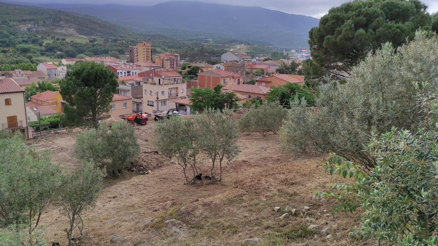 La Jonquera inicia la construcció d'un aparcament municipal per un milió d'euros