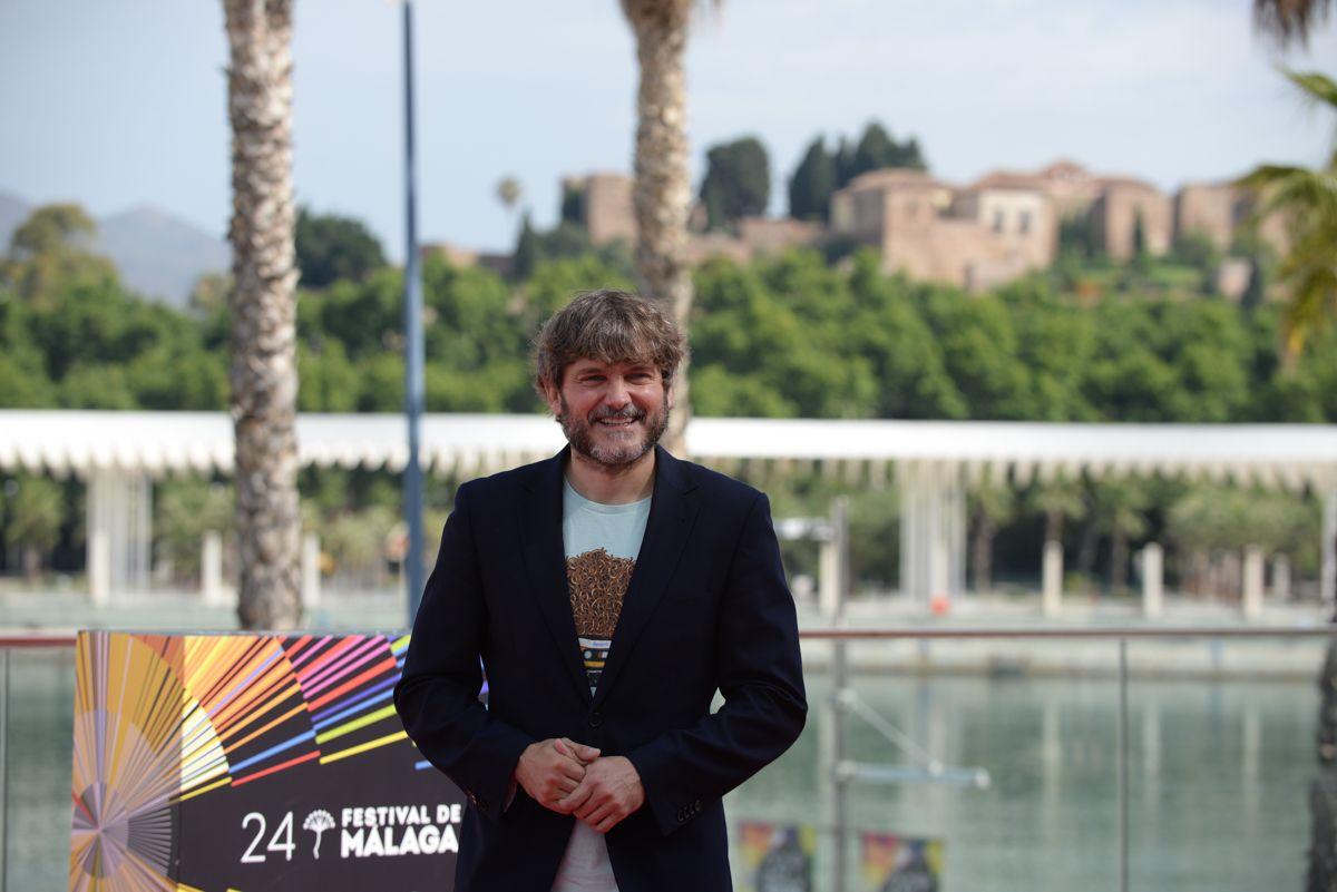 Photocall de 'Con quién viajas' en el 24 Festival de Cine de Málaga