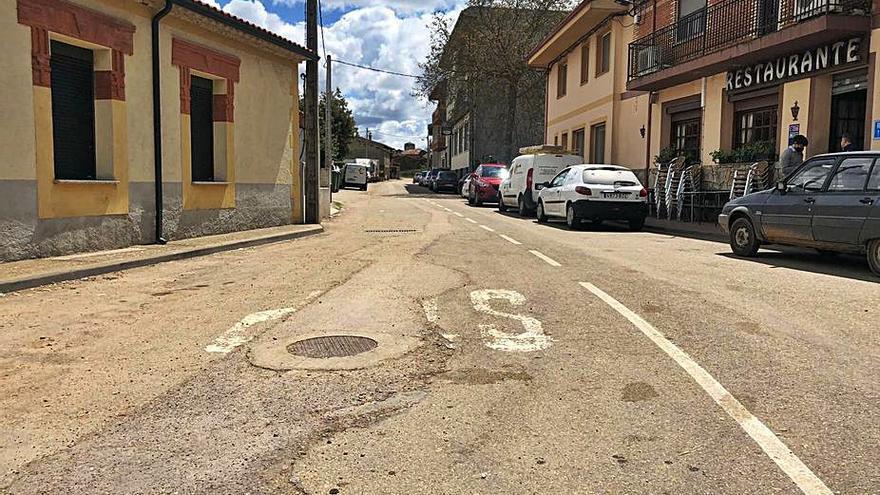 El arreglo de la vía de Rabanales a Gallegos del Río evitará el paso por la N-122
