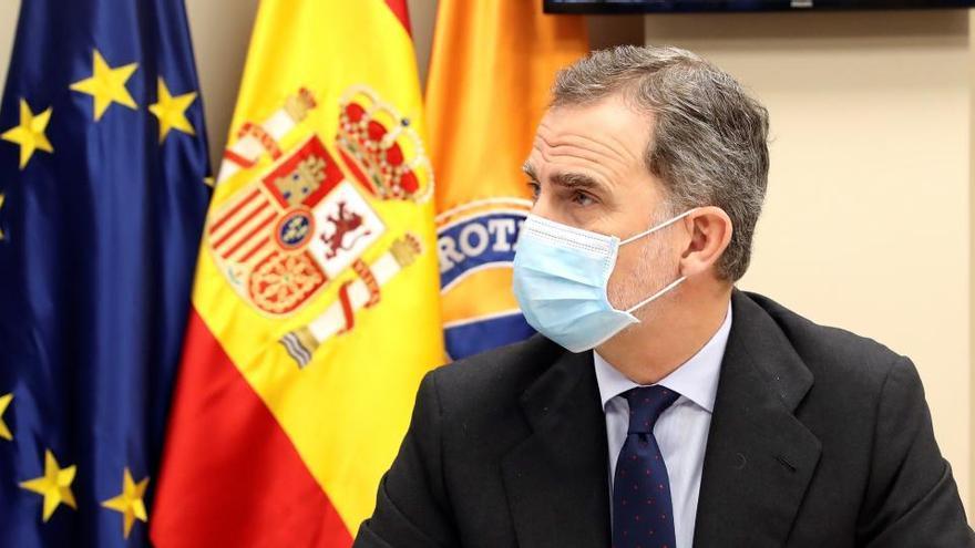 Felipe VI reclama apoyo a la ciencia para superar la crisis del coronavirus