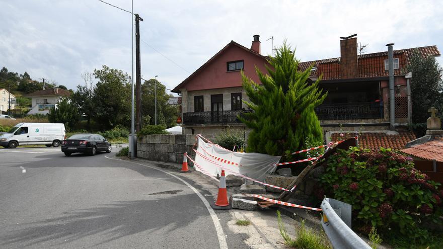 Muere un hombre de 77 años en un accidente de tráfico en Pontevedra