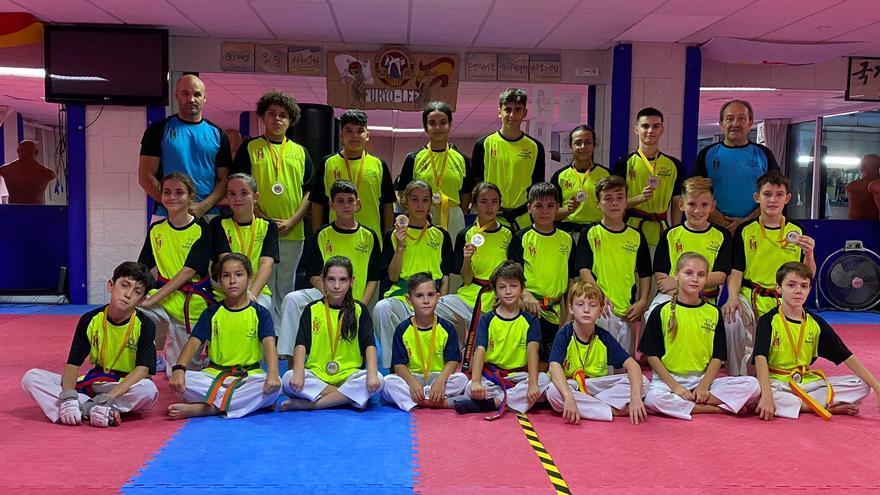 El Club Taekwondo Furyo de Alicante logra 19 medallas en el Open Comunidad Valenciana