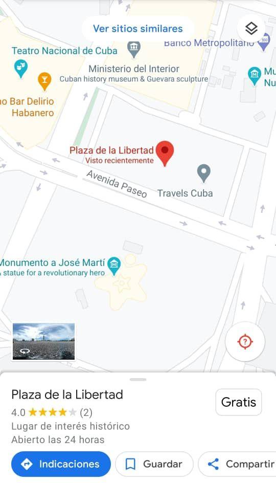 La captura de la Plaza de la Libertad.