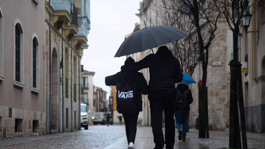 Borrasca Gaetan en Zamora | Sanabria sigue en alerta amarilla por fuertes vientos y deshielo