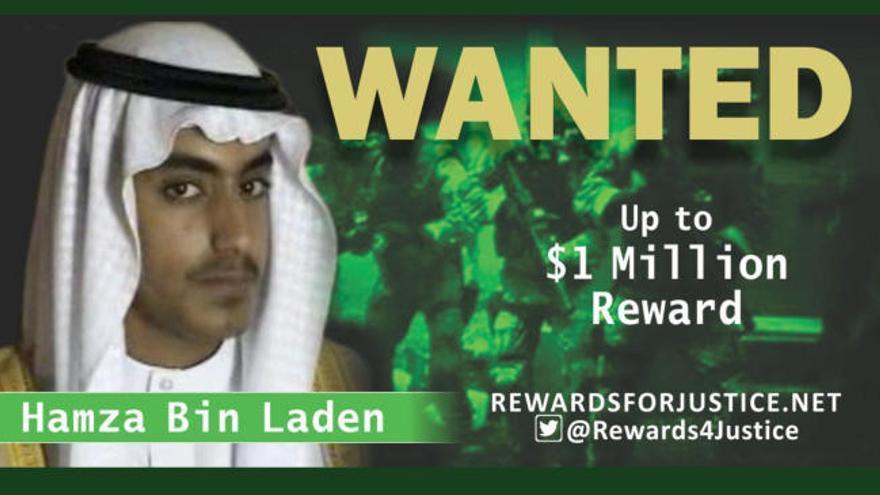Estados Unidos ofrece un recompensa de un millón de dólares por el hijo de Osama bin Laden