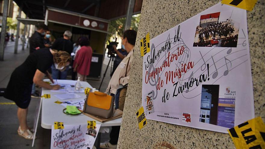 Educación suspende seis meses a la directora del Conservatorio de Zamora