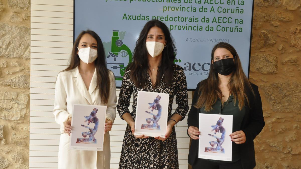Andrea Rodríguez, Estíbaliz Díaz y Valentina González.
