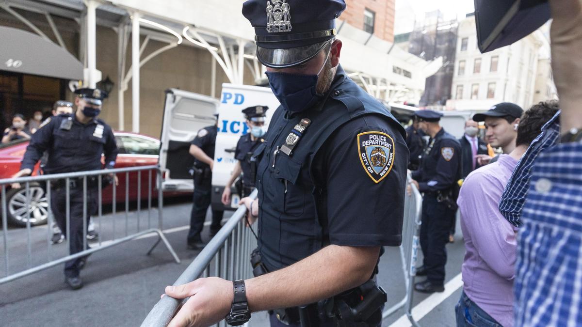 Un policía de Nueva York