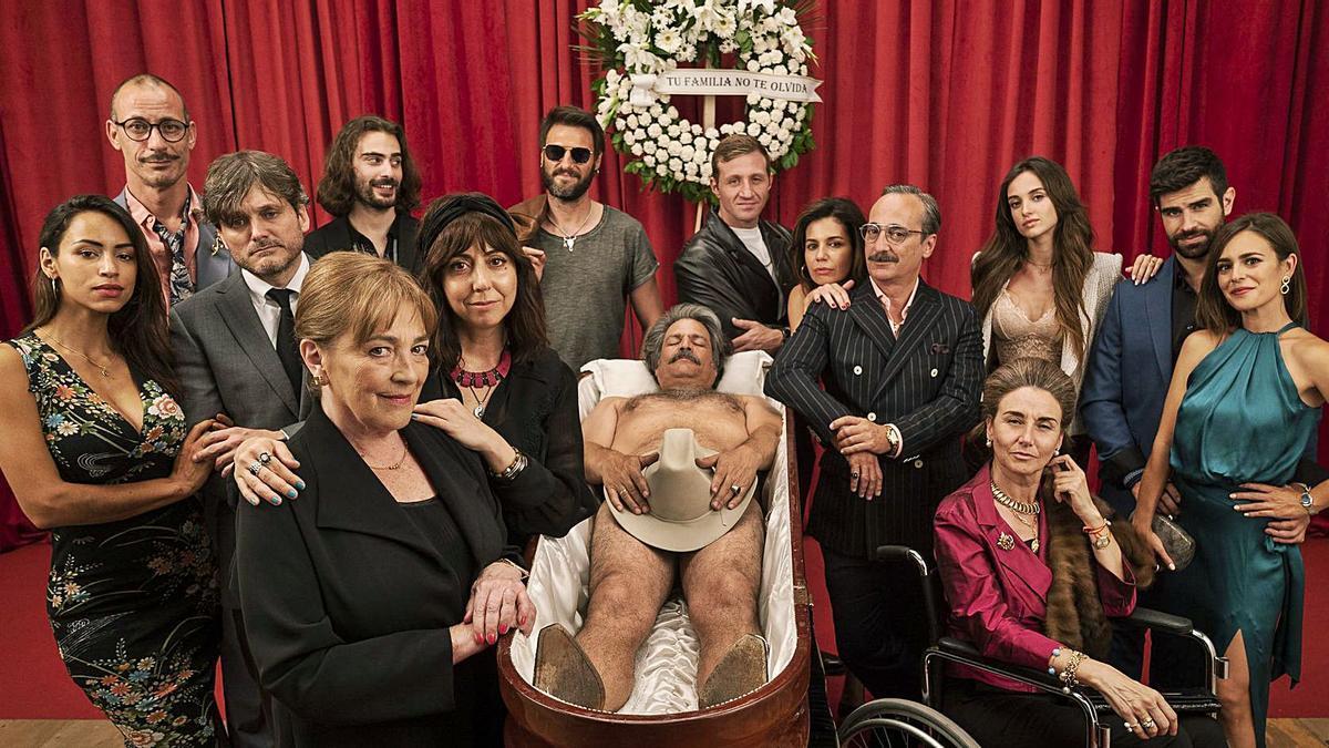 Imagen promocional de la serie «Deudas», protagonizada por Carmen Maura. | LEVANTE-EMV